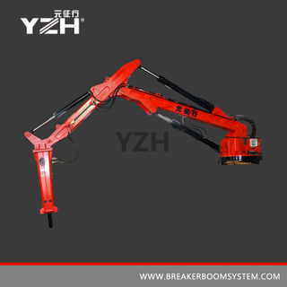XL 940 R 360° Rotating Mobile Pedestal Type Rock Breaker Boom System