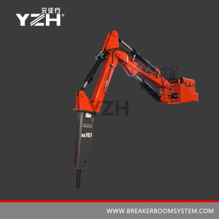 S 440 Stationary Type Hydraulic Rock Breaker Boom System