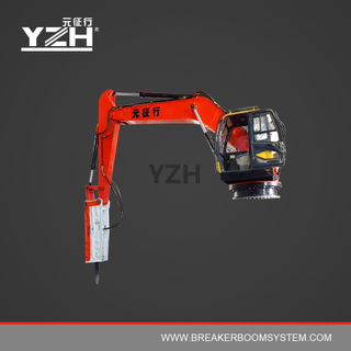 XL1020R Portable Robotic Rock Breaker Boom System For Mining