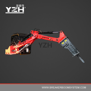 YZH-C550 170° Slewing Type Portable Boom Rock Breakers System