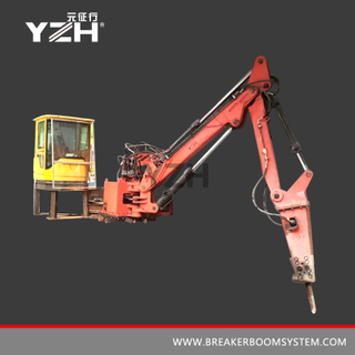 M 550 Stationary Type Pedestal Rockbreaker Boom Systems