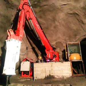China Stationary Type Pedestal Rock Breaker Boom System