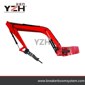 China Fixed Type Hydraulic Rock Breaker Arm System
