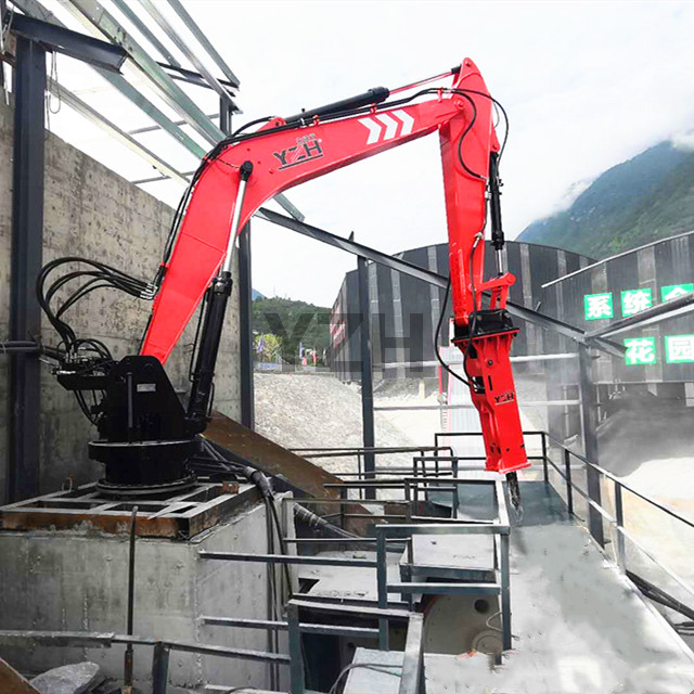 China Factory Pedestal Boom System
