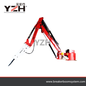 China Pedestal Rock Breaker Boom System
