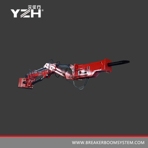 Stationary Type Rockbreaker Boom Systems