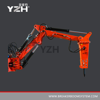 Multi-purpose Pedestal Breaker Boom System