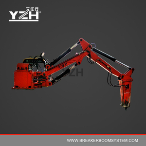 Stationary Hydraulic Rockbreaker With Rammer Hammer