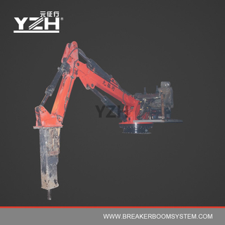 Static Hydraulic Pedestal Boom With Breaker