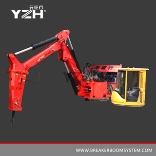 YZH-M630 Static Type Manipulator With Hydraulic Rock Breaking Hammer