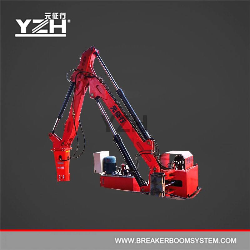 Stationary Type Pedestal Boom Rock Breakers